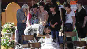 Italy In Mourning: Funerals Underway For Earthquake Victims