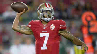 49ers Quarterback Sits Out National Anthem To Protest Oppression Of Minorities