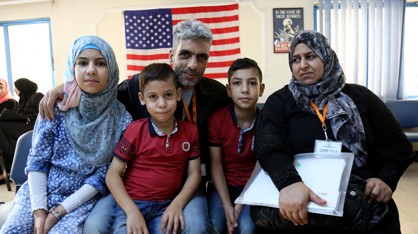 The 10000th syrian refugee is set to arrive in the u s this week the two way npr