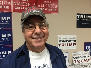 John Delaberta is a retired businessman. He supports building a wall on the U.S.-Mexico border.