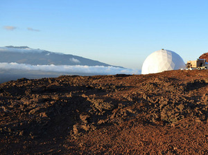 Six people just finished a yearlong experiment living inside a dome in Hawaii to simulate life on Mars.