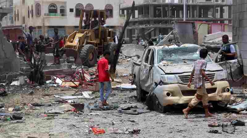Suicide Bombing In Yemen Kills At Least 54; Attack Claimed By Islamic State