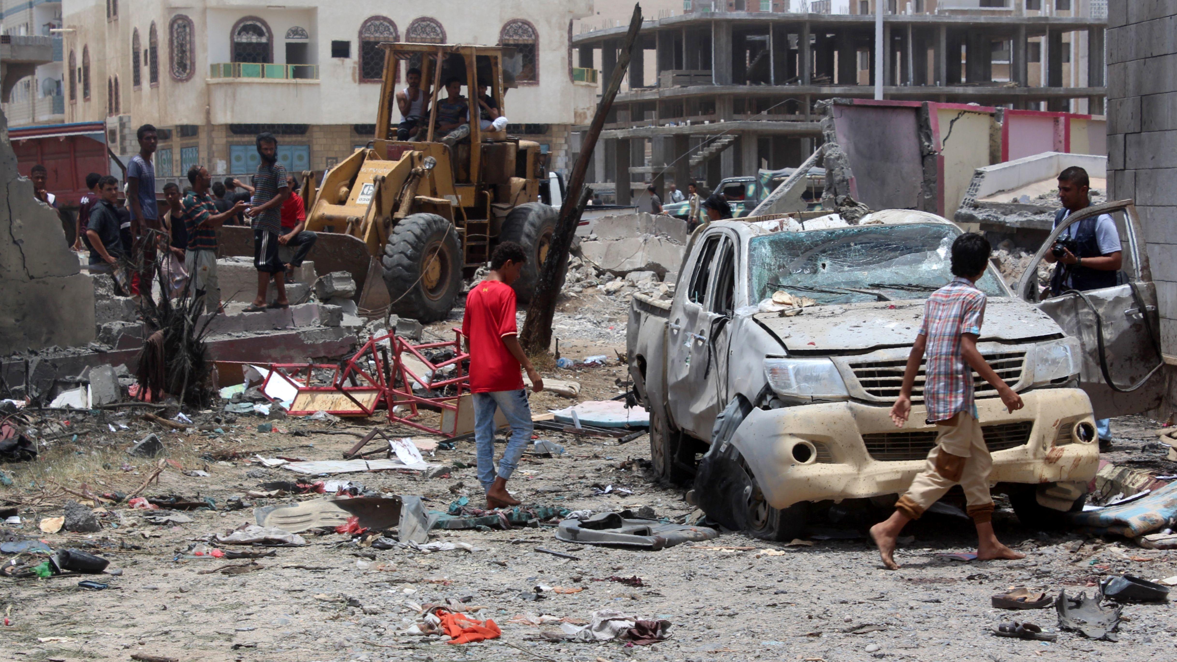 Suicide Bombing In Yemen Kills At Least 45
