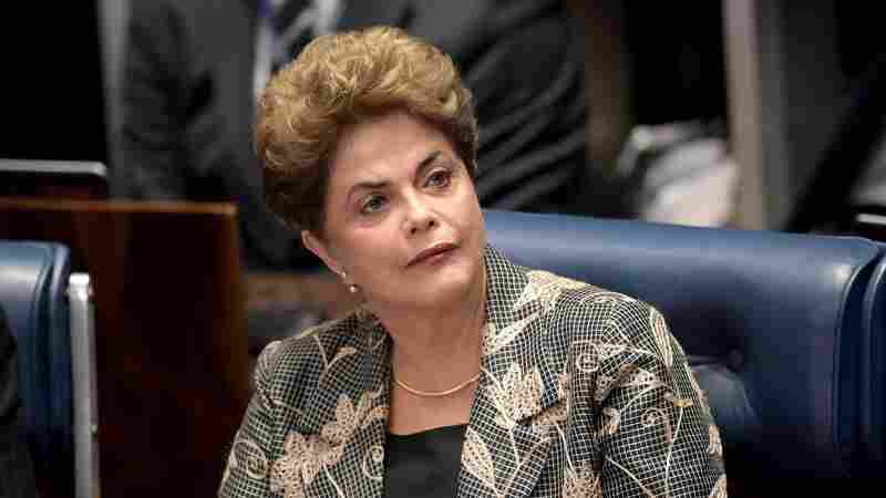 Dilma Rousseff Defends Herself Before Brazil's Senate