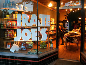 "The original (P)irate Joe's was once a Romanian bakery. Then it became ""Transilvania Trading,"" the mysteriously labeled storefront where Marty Hallatt sold Trader Joe's items to people who were in on the secret. After Trader Joe's started objecting, Hallatt rebranded as Pirate Joe's."