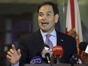 Sen. Marco Rubio, R-Fla., again won his party's nomination in the key Florida Senate race.
