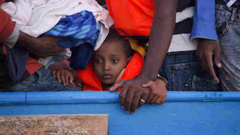 1 Day, 40 Boats, Thousands Of People Rescued Trying To Get To Europe