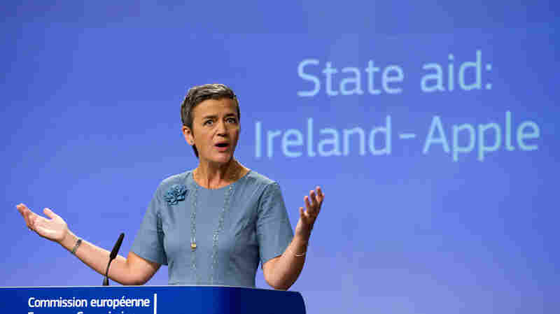 Apple Owes Ireland $14.5 Billion In Taxes, European Commission Says