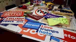 Smithsonian Collects Convention Memorabilia To Tell This Election's Story