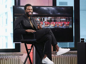"Actor Yahya Abdul-Mateen II discusses his role from the show ""The Get Down"" on Aug. 12 in New York City."