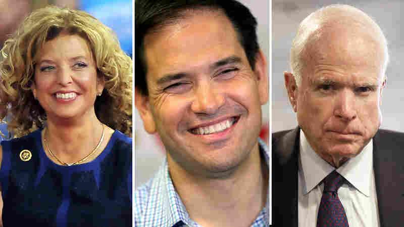 McCain, Rubio, Wasserman Schultz Wins Show Power Of Incumbency