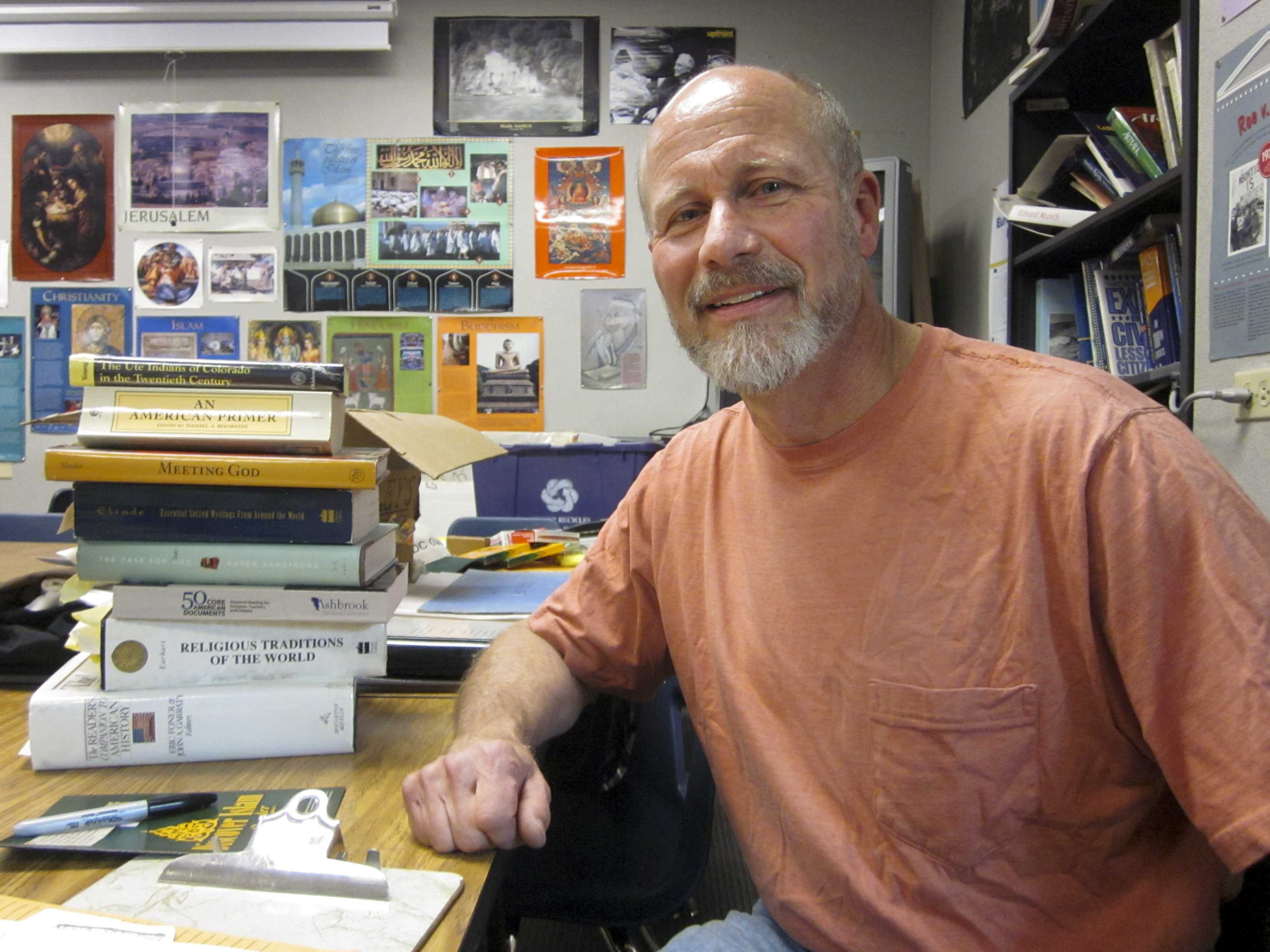 After 25 Years, This Teacher Says It's All The Paperwork That Made Him Quit