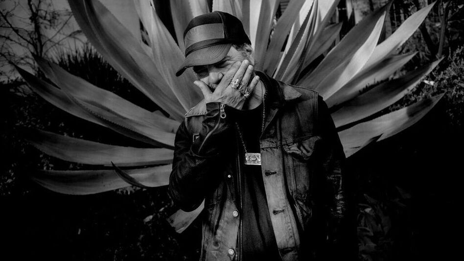 Daniel Lanois' new album, Goodbye To Language, comes out Sept. 9. (Courtesy of the artist)