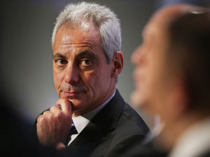Chicago Mayor Rahm Emanuelm, shown here in January, wants to create a new Civilian Office on Police Accountability to investigate police shootings, allegations of excessive force and other police misconduct.