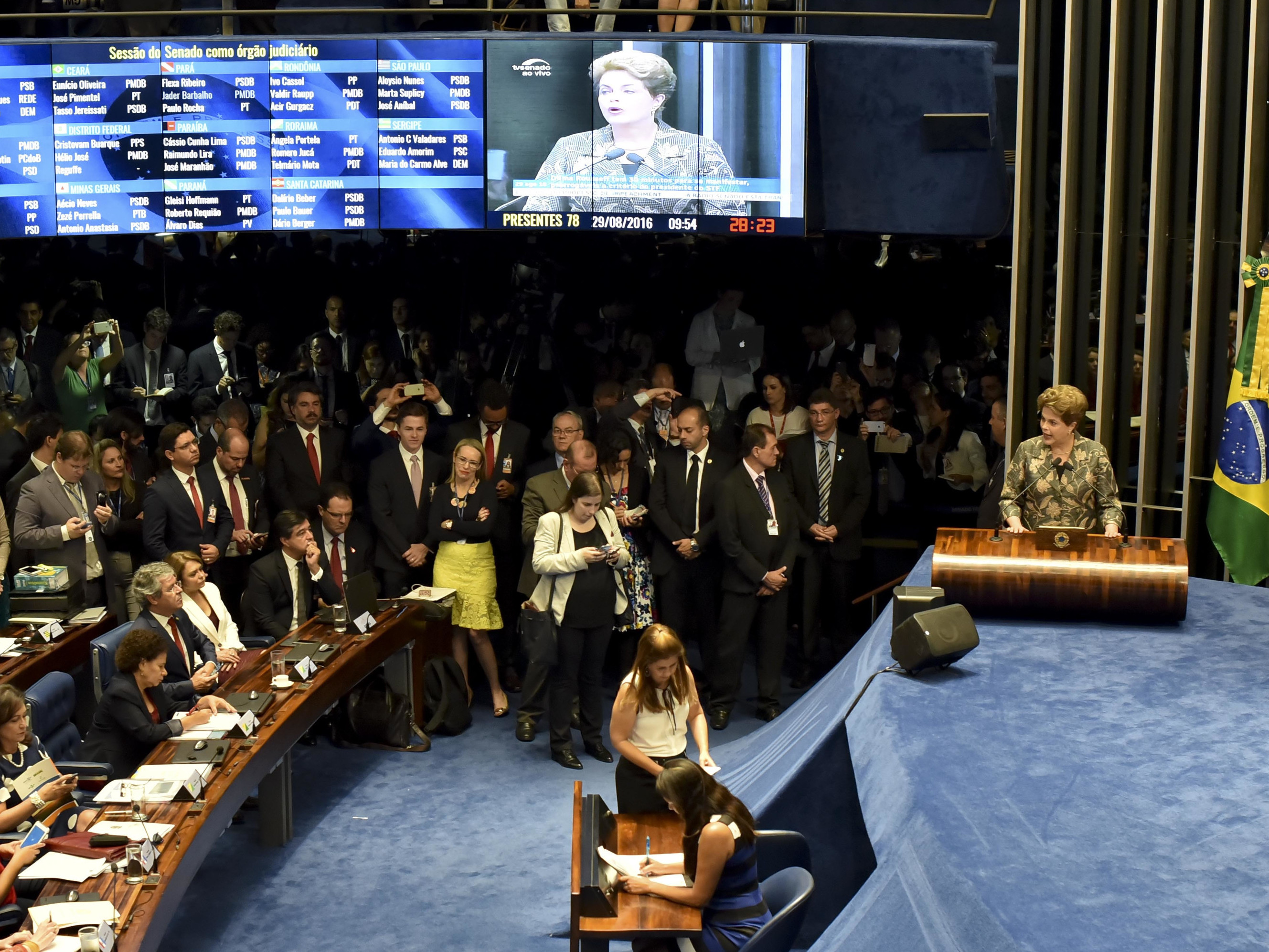 Brazil president backers want 2 separate votes