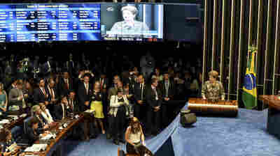Brazil's Senate Votes To Impeach Dilma Rousseff