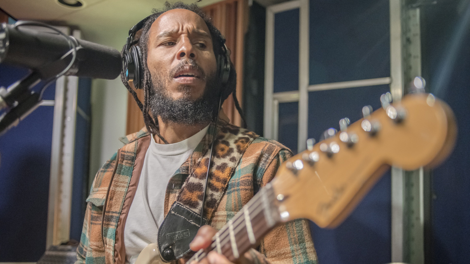 Ziggy Marley performs live for KCRW's Morning Becomes Eclectic. (KCRW)
