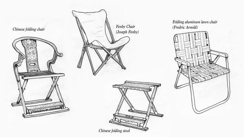 Who Invented The Folding Chair Sante Blog