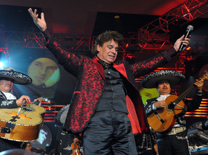 Juan Gabriel performs in Las Vegas in 2009.