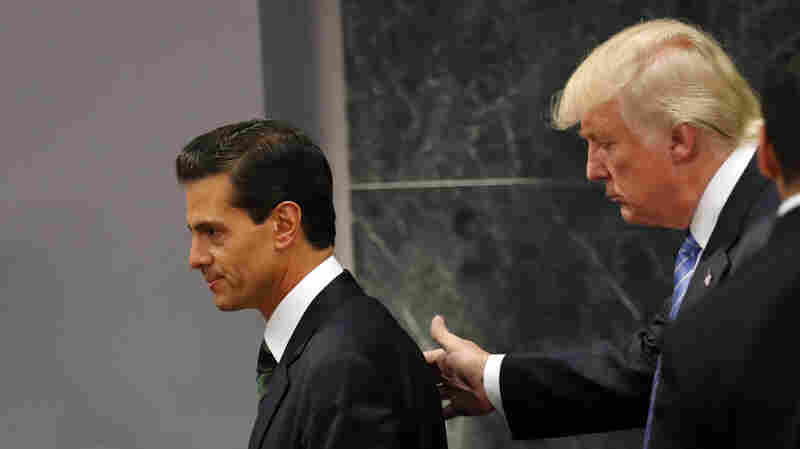 Trump Makes Nice In Mexico, Talks Tougher Than Ever Just Hours Later In Phoenix