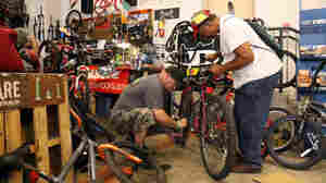 Some Towns Treat Bikes As Trendy, But In Reading, Pa., They're Tools