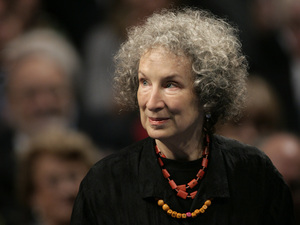 """I'm very fond of him,"" Margaret Atwood says of her protagonist, Angel Catbird. Atwood is also the author of several other novels, including The Handmaid's Tale, The Blind Assassin and Oryx and Crake."