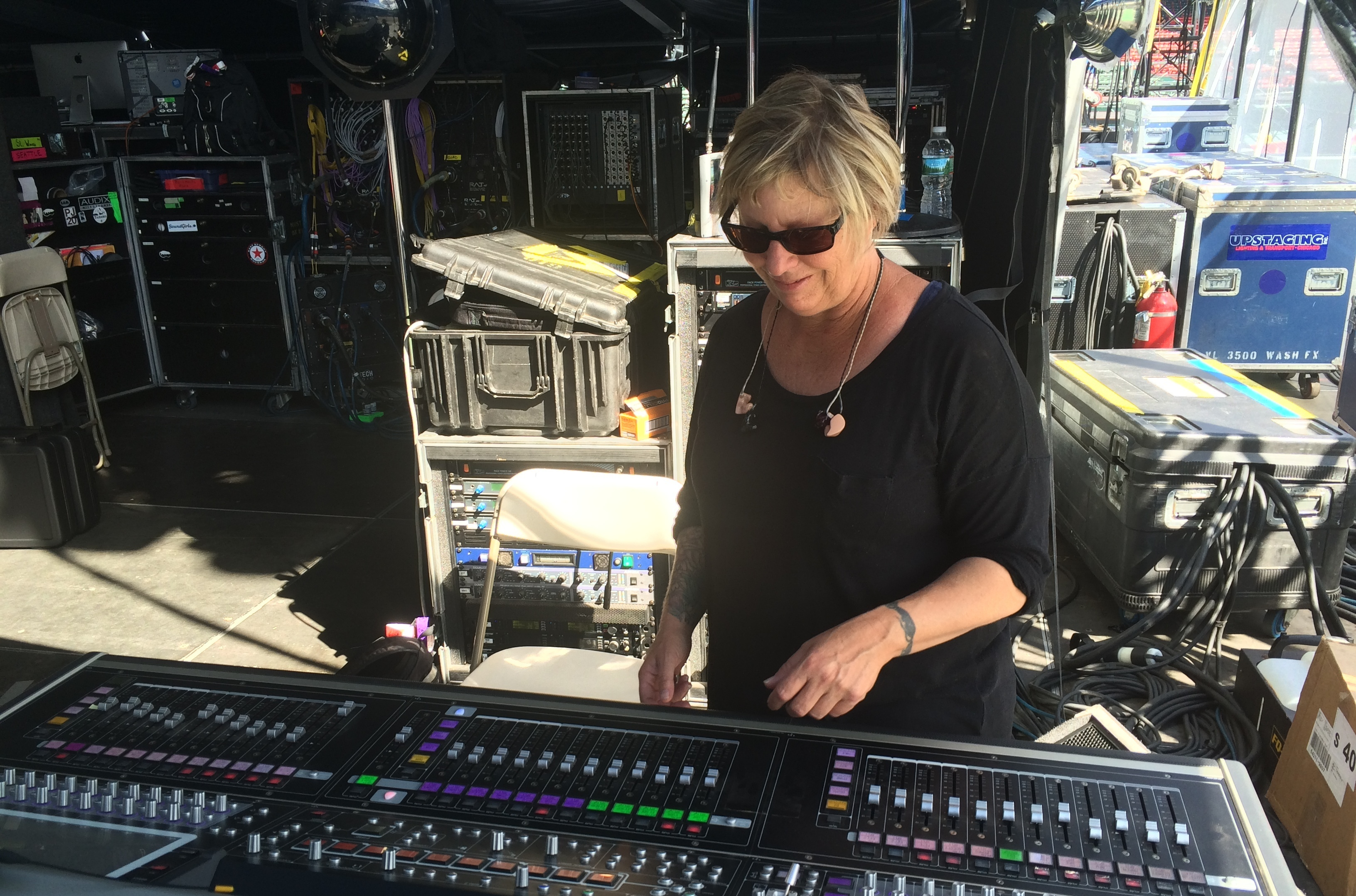 Meet The Woman Who's Been Pearl Jam's Sound Engineer For 24 Years
