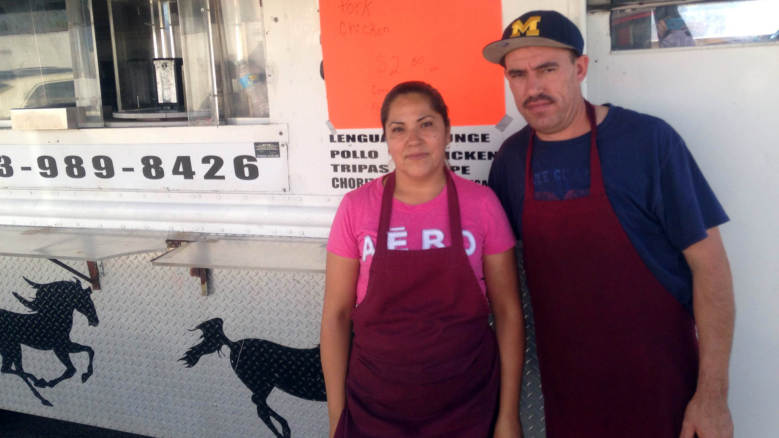 Taco Truck Owner Racks Up Sales At Trump Event In Detroit