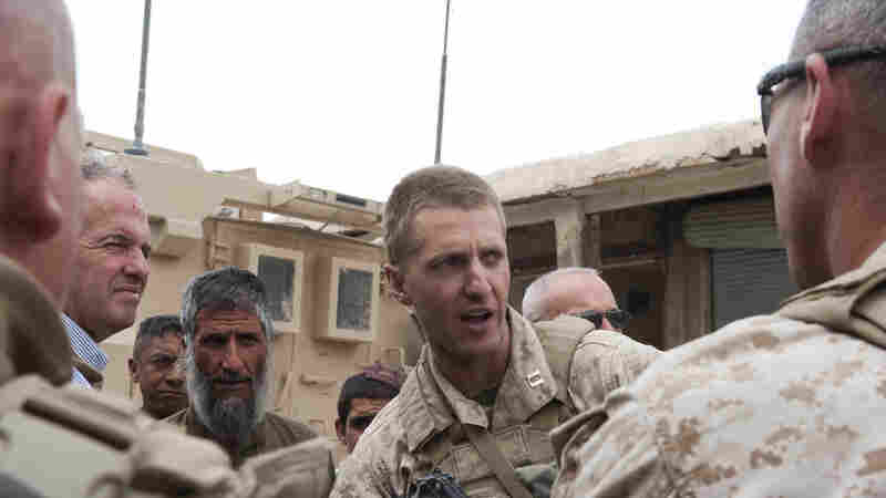 A U.S. Marine Tried To Warn A Comrade, Now He Faces A Discharge