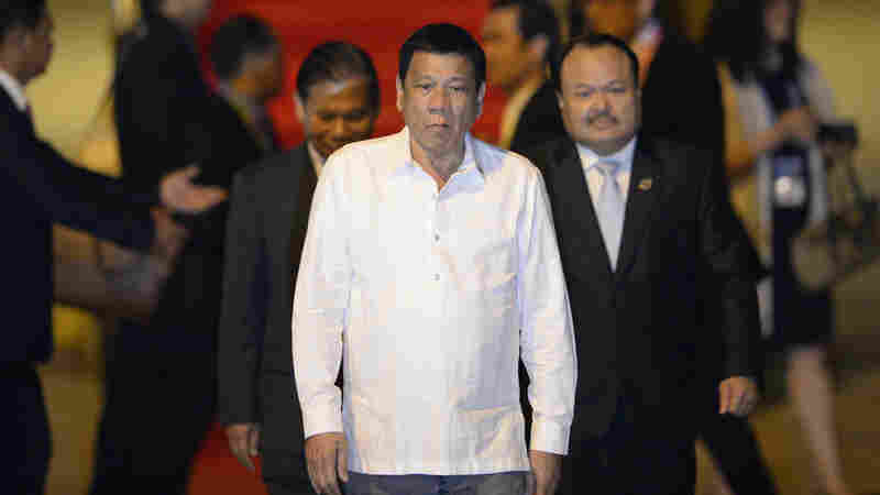 Philippine President Expresses 'Regret' For Cursing Obama