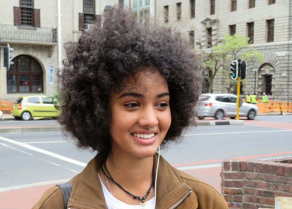 Decrying Hair Rule South African Students Demand To Be Naturally