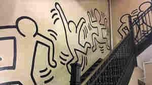 In An NYC Stairwell, One Of Keith Haring's Murals May Be In Peril