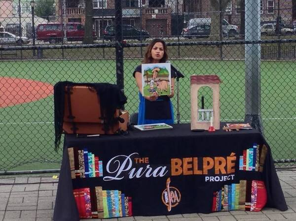 Teatro SEA, a Latino theater company, runs The Pura Belpré Project, in which actors dressed as Belpré tell bilingual stories.