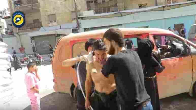 Syrian Regime Accused Of Using Chlorine Gas Against Civilians