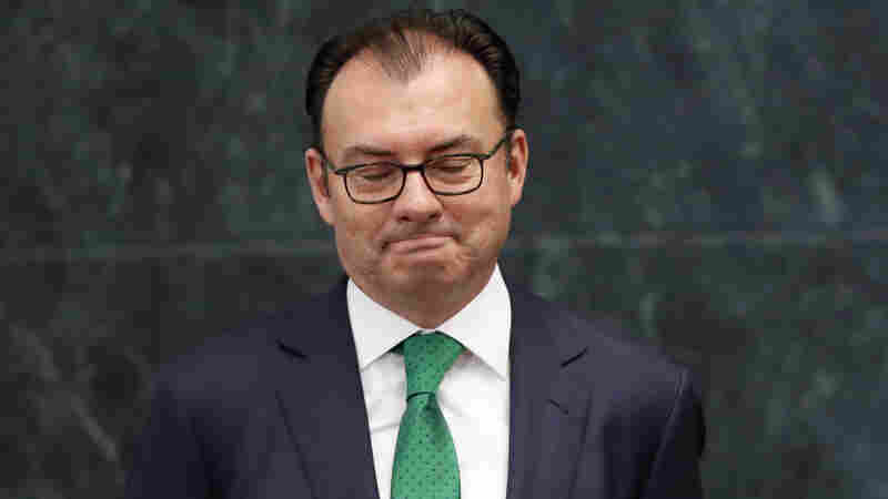 Mexican Finance Minister Resigns; Apparent Casualty Of Trump Visit