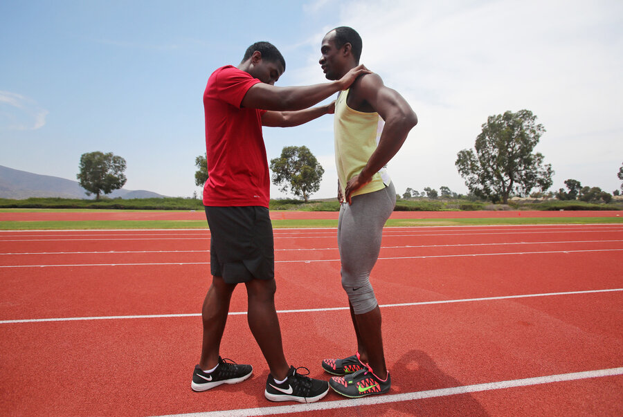 At Paralympics Blind Long Jumper Relies On Teamwork The Torch NPR