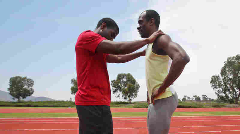 For Blind Long Jumper At Paralympics, Success Depends On Teamwork