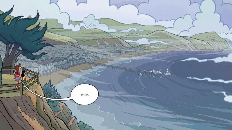 Raina Telgemeier's Graphic Novel 'Ghosts' Takes On A Tough