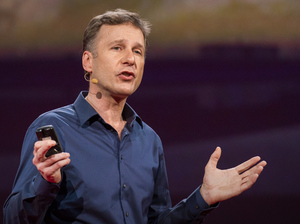 Astronomer Andrew Connolly speaking at TED.