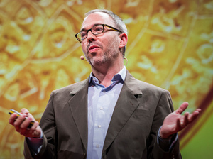 Kenneth Cukier speaks at TEDSalon Berlin.