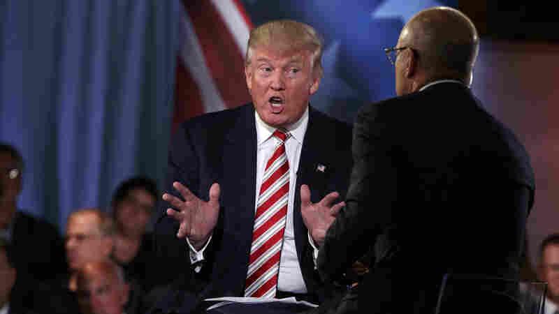 Donald Trump's Long Embrace Of Vladimir Putin