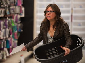 Pamela Adlon plays a single mother to three girls in the series Better Things, which premieres Sept. 8th on FX.