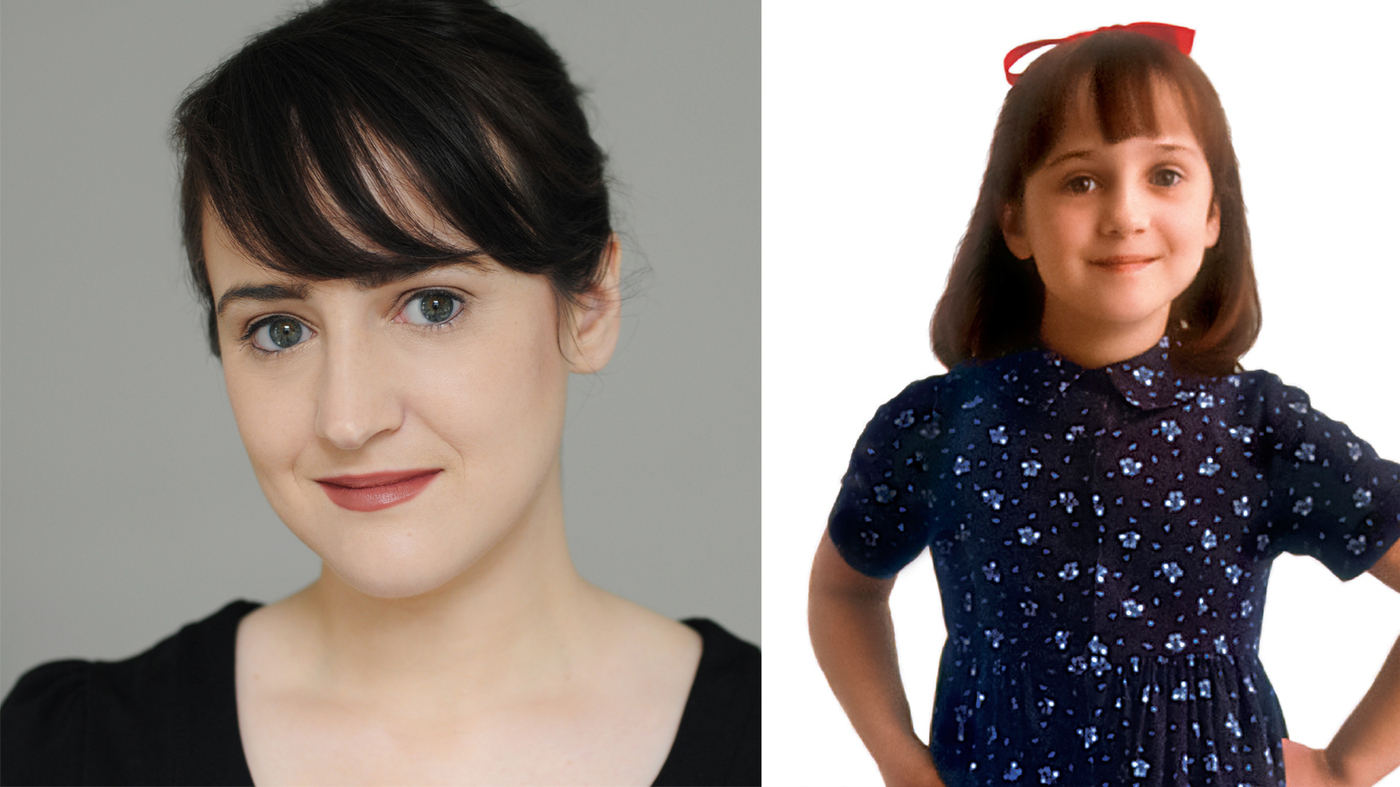 'Where Am I Now?' Mara Wilson Explains What Happened When Matilda Grew Up :  NPR