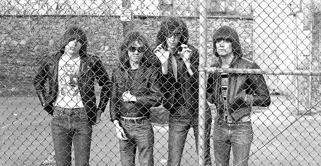 The Ramones in 1976, the year the band released its debut album.