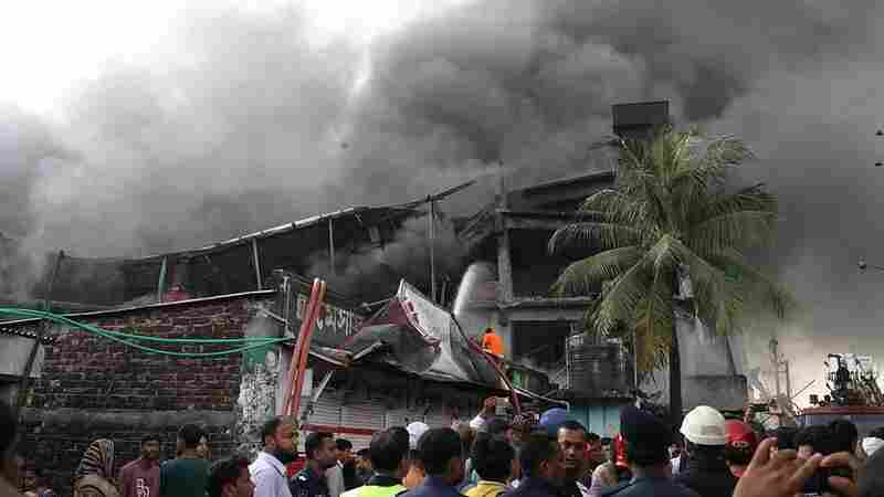 Factory Fire In Bangladesh Kills At Least 21