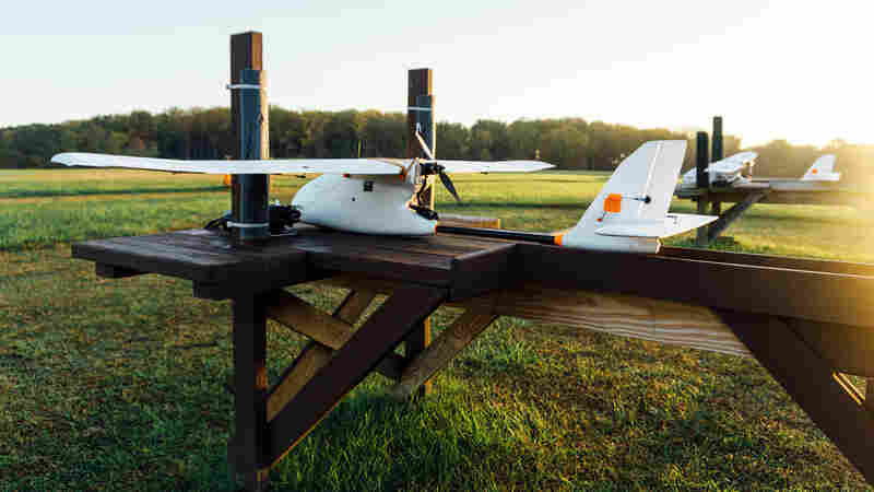 Doctors Test Drones To Speed Up Delivery Of Lab Tests