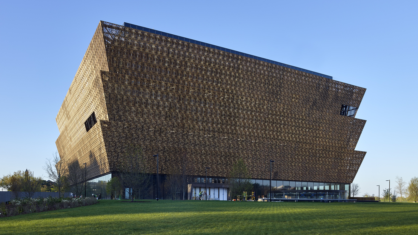 mission of african-american museum writ large in its very design : npr