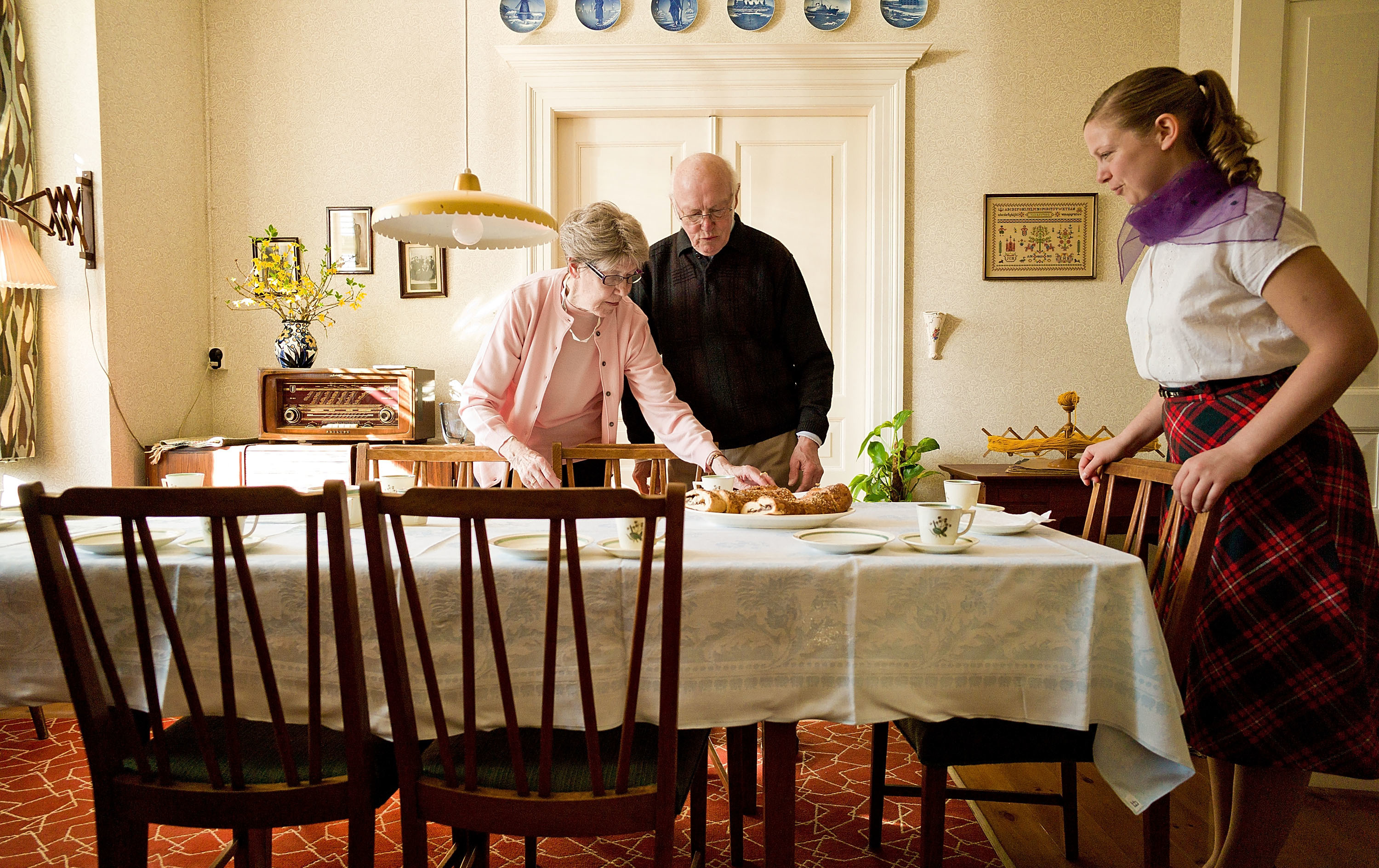 Denmark's 'House Of Memories' Re-Creates 1950s For Alzheimer's Patients : Parallels : NPR