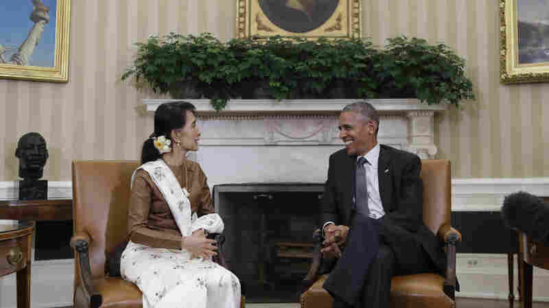 Obama Says U.S. Is Prepared To Lift Sanctions Against Myanmar