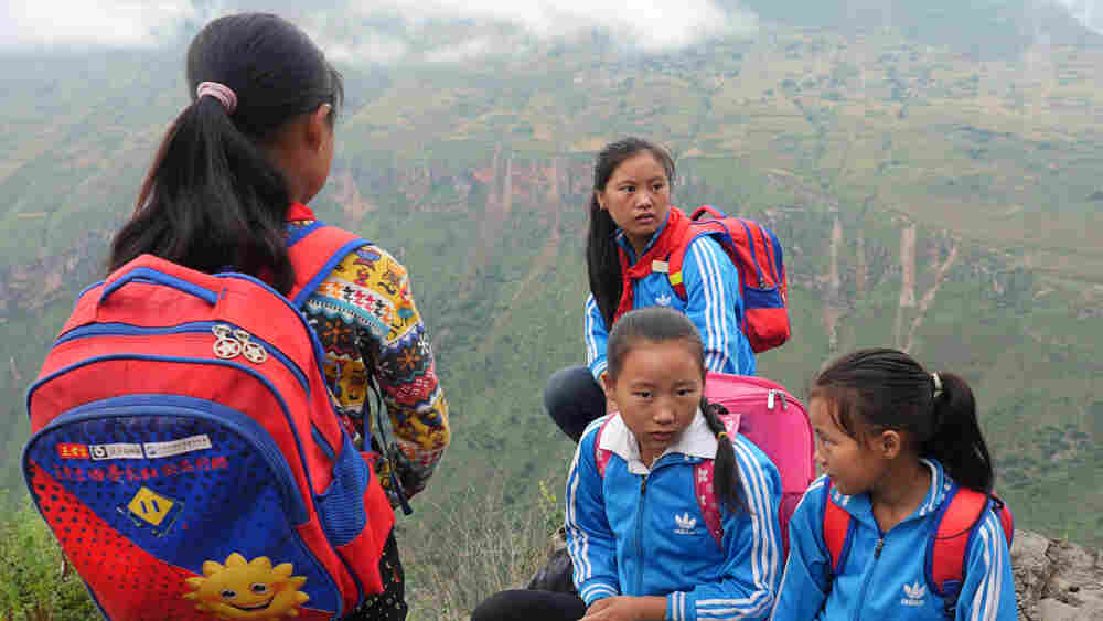 A Harrowing, Mountain-Scaling Commute For Chinese Schoolkids